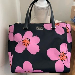 Kate Spade Dawn Grand Flora Satchel - NWOT